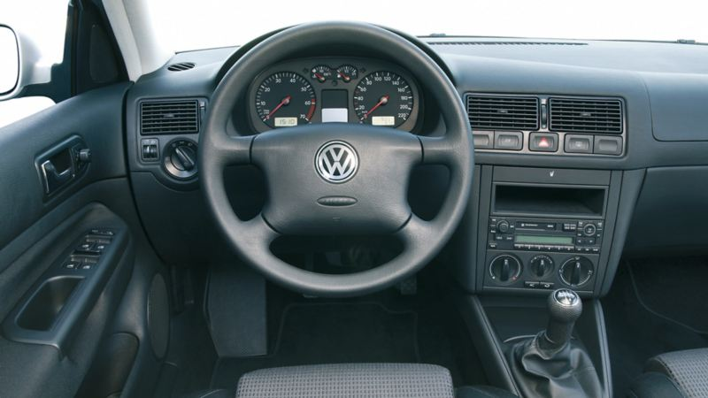 interni Golf IV volante