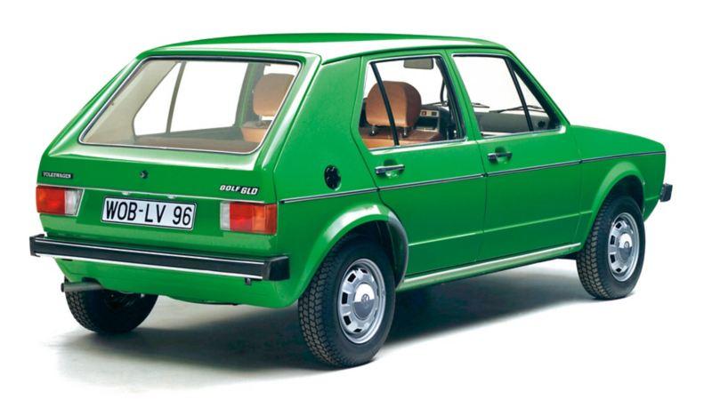 Posteriore Golf I verde diesel