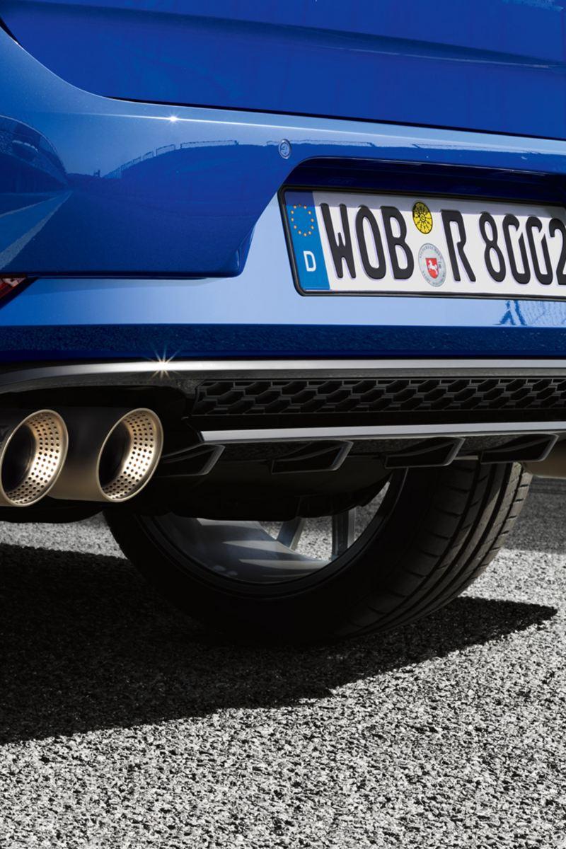 Dettaglio di alcune componenti Volkswagen Golf
