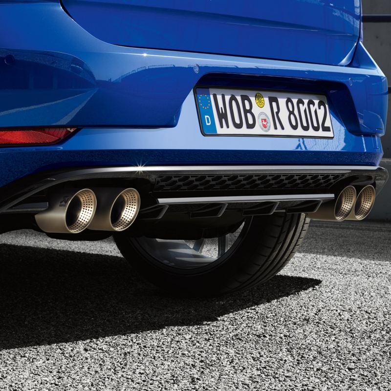 Dettaglio posteriore Volkswagen Golf R