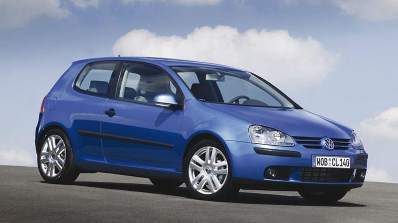 Golf V 2003 blu