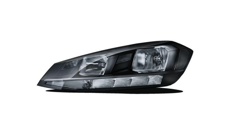 Image détourée des phares halogènes avant de la VW Golf Alltrack