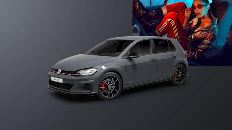 VW Golf GTI TCR przód