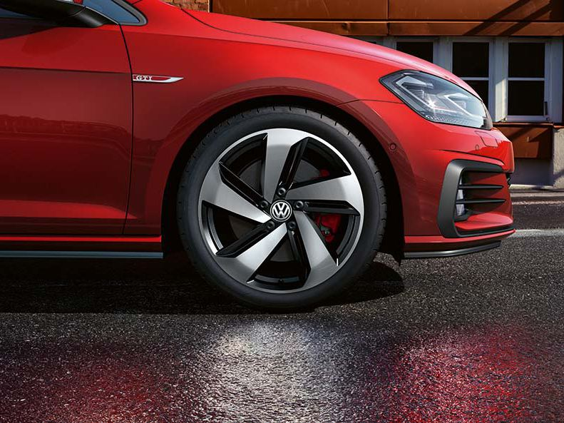 Golf GTI alloy wheels