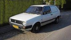 1981 - Golf bestelwagen