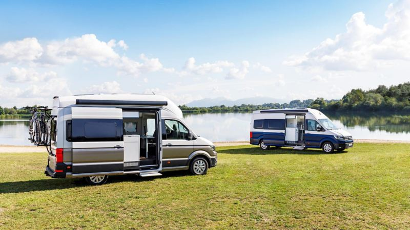 Volkswagen Grand California 600 och 680 ny husbil