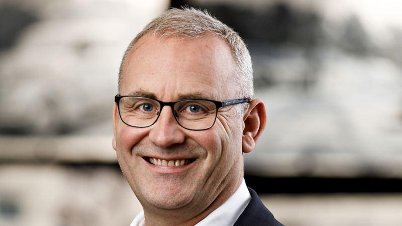 Håkon Wirak, direktør Volkswagen Nyttekjøretøy