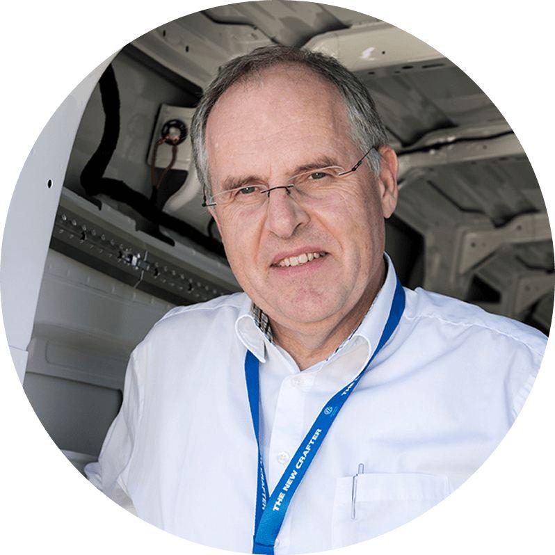 Harald Ludanek, utvecklingschef från Scania till Volkswagen Transportbilar