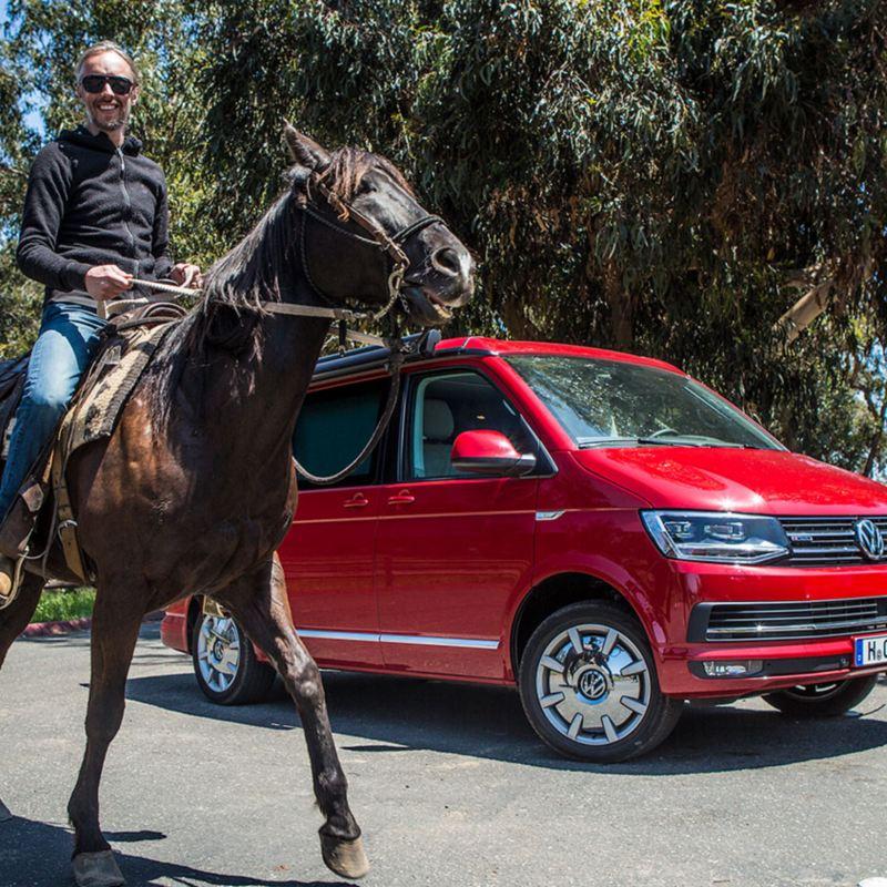 Volkswagen California i Californien