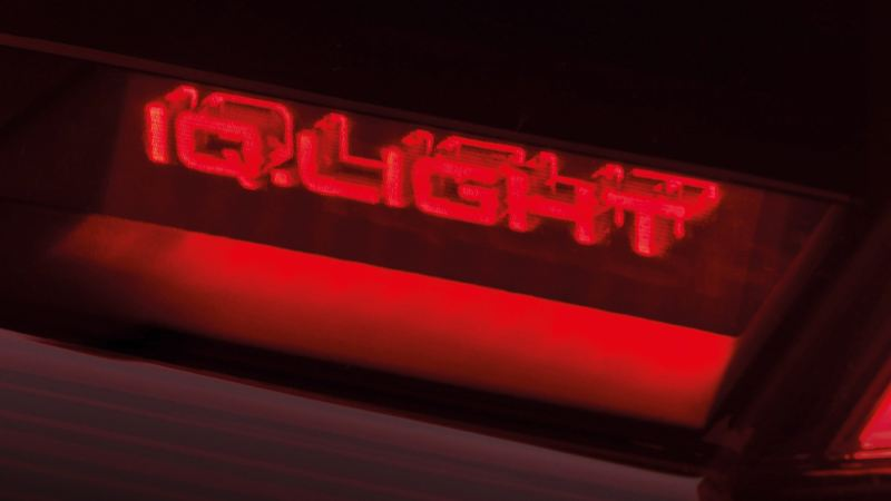 Holograms in the rear lights