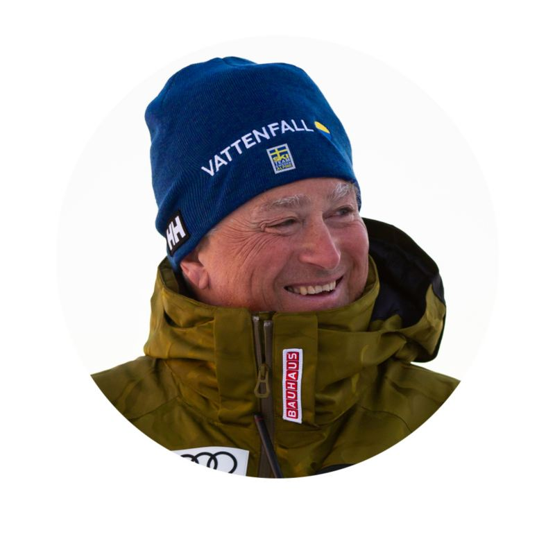 Helmut Grassl, tekniktränare för alpina skidlandslaget