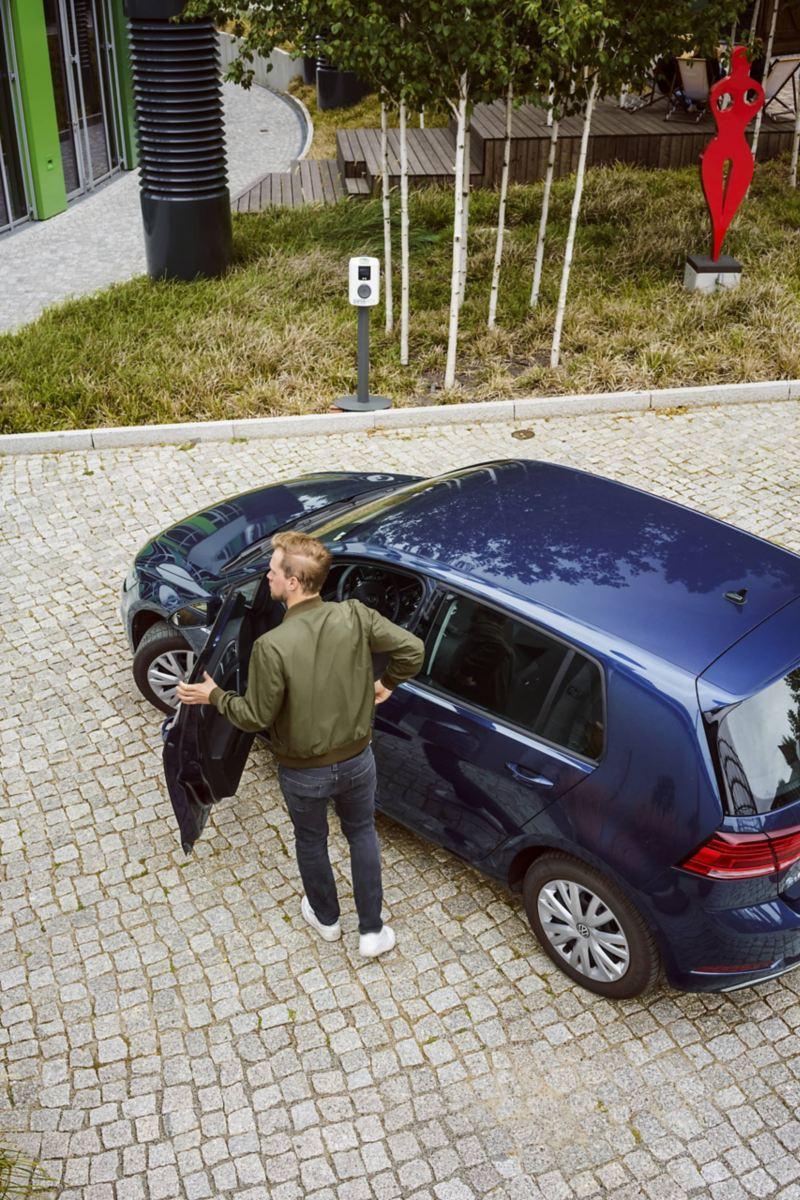 Volkswagen e-Golf em utilização urbana