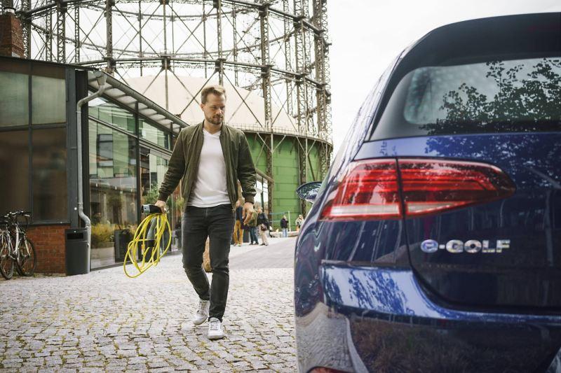 Volkswagen e-Golf nell'uso urbano