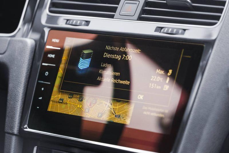Display di Volkswagen e-Golf