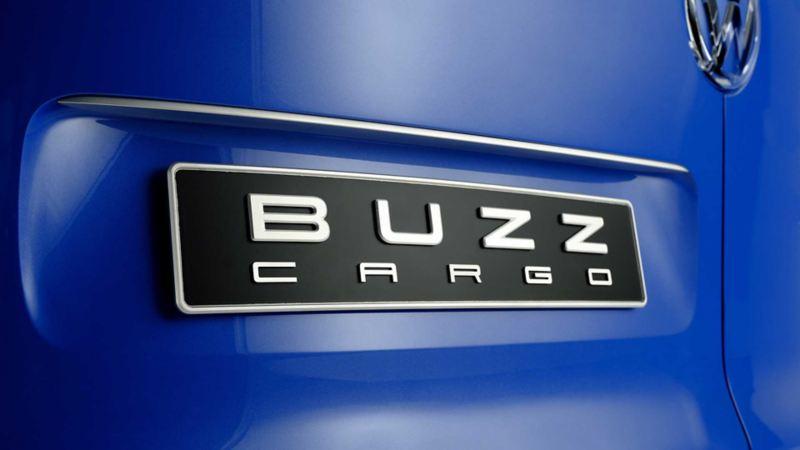 vw Volkswagen id buzz cargo elektrisk varebil elbil elvarebil el varebil emblem logo