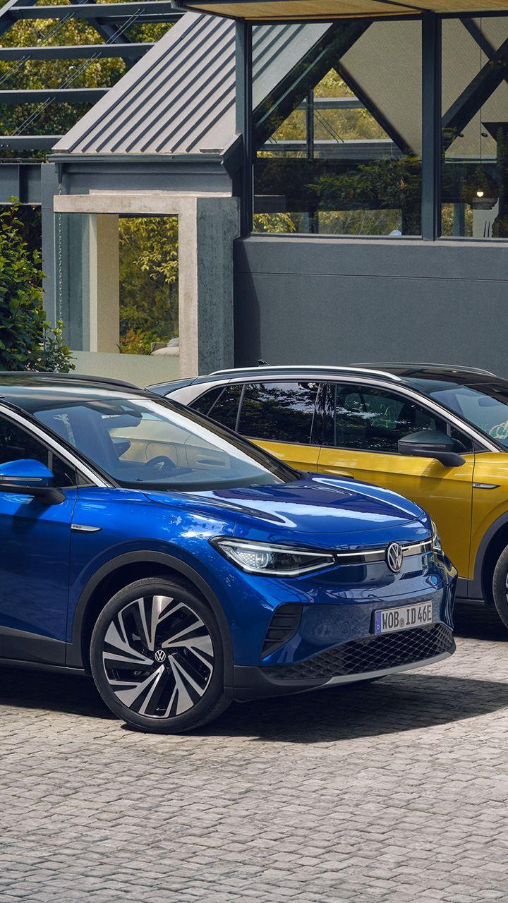 Helt elektriska Volkswagen ID.4