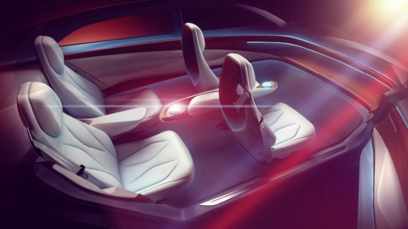 3D model of the interior of the ID. Vizzion