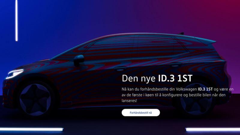 Volkswagen ID.3 forhåndsbestilling