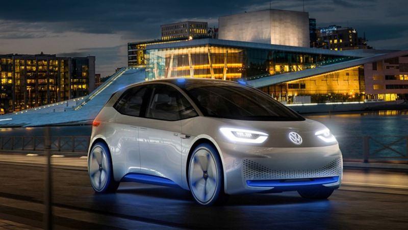 Volkswagen ID. Neo konseptbil i Oslo
