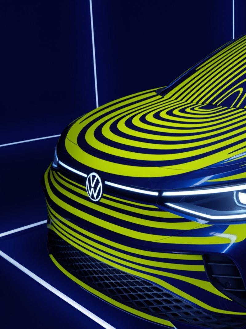 ID.4 concept headlights
