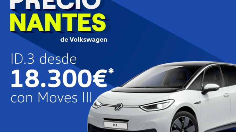 Volkswagen ID.3 elbil sett fra siden