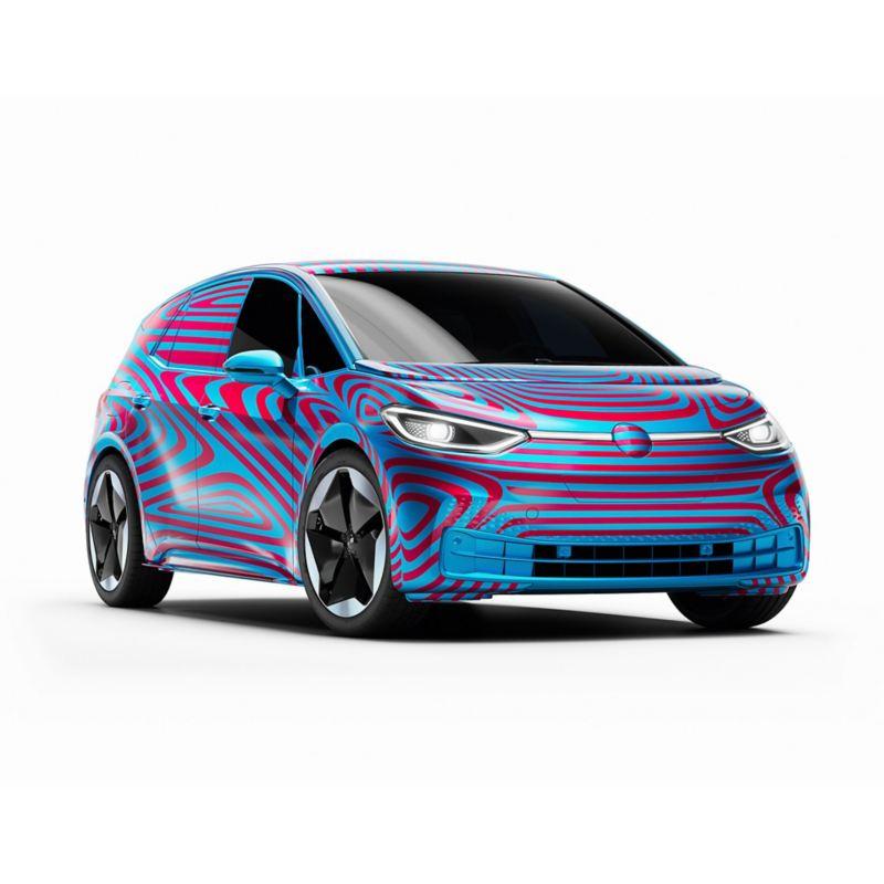 Volkswagen ID.3 skrått forfra