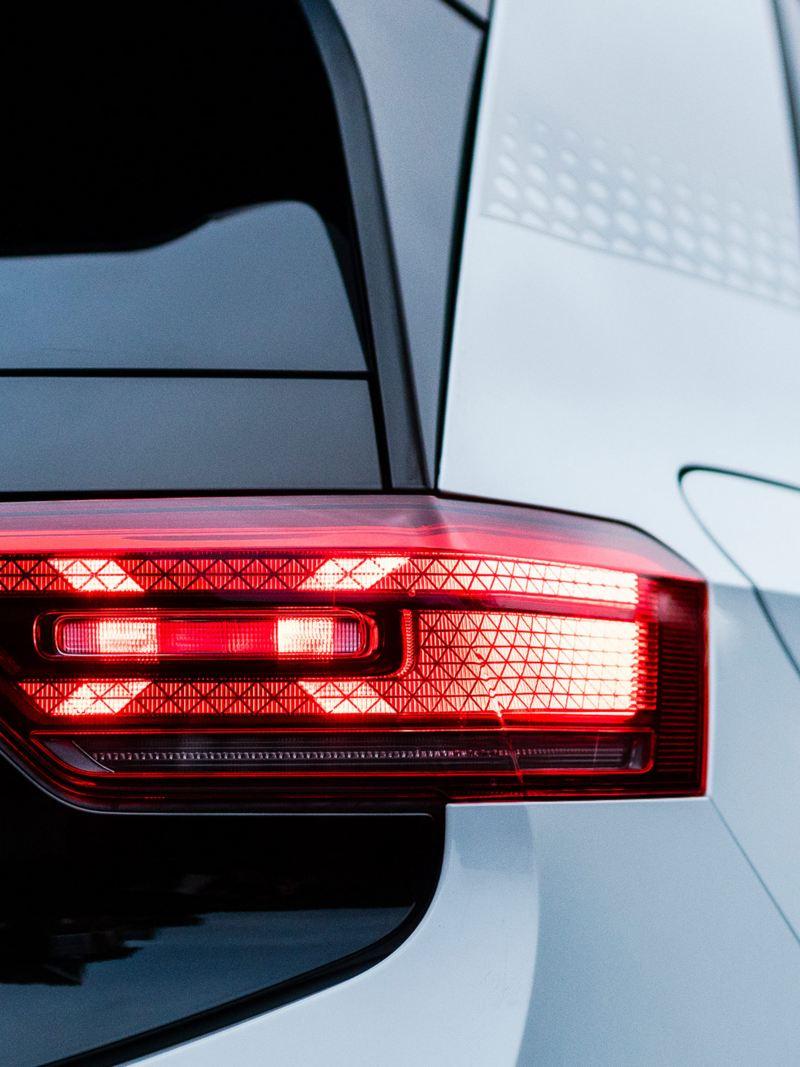 The VW ID.3 1ST brake light lit up