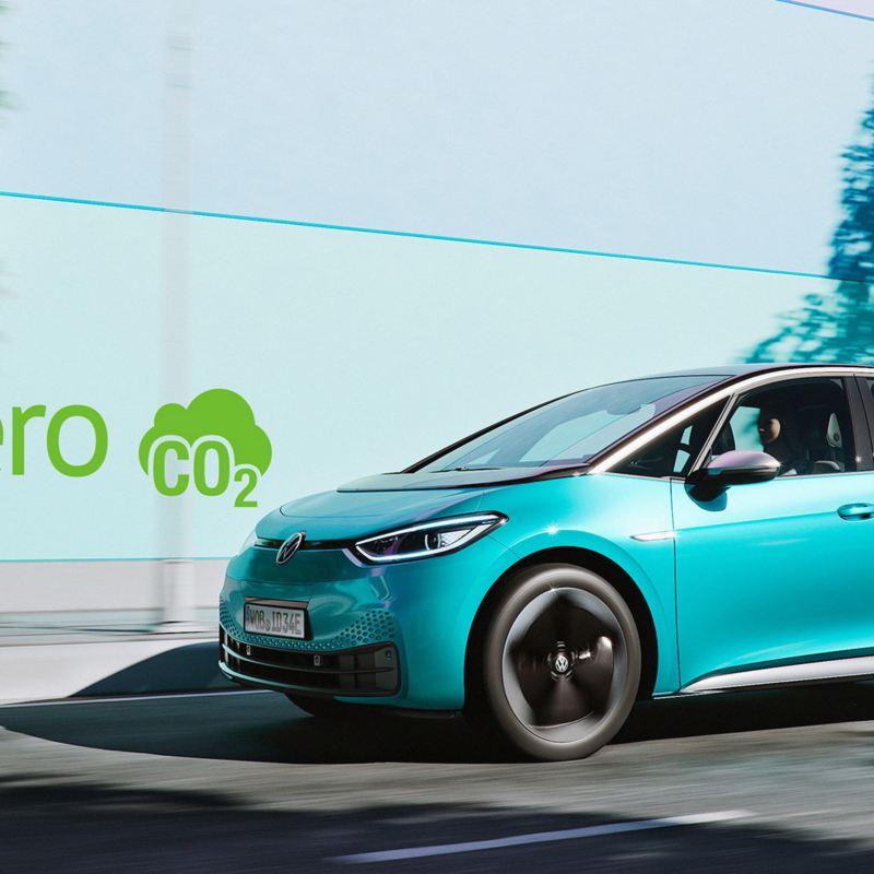 Karbonnøytral bilproduksjon av Volkswagen ID.3 elbil