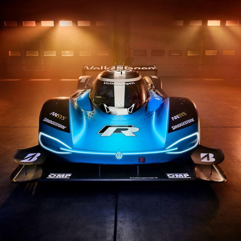 Volkswagen ID.R, elektrische racewagen, magazijn, elektrisch aangedreven racewagen