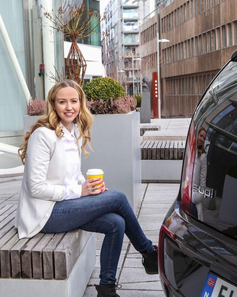 À un café avec la e-up!