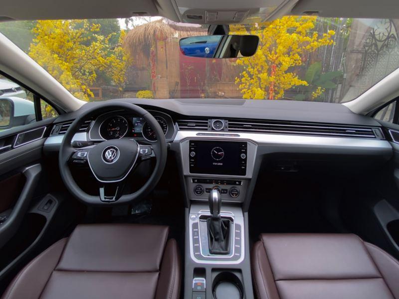 Nội thất Volkswagen Passat 2020