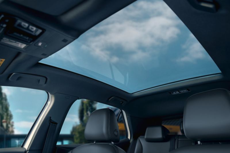 Panorama sunroof in the VW ID.3