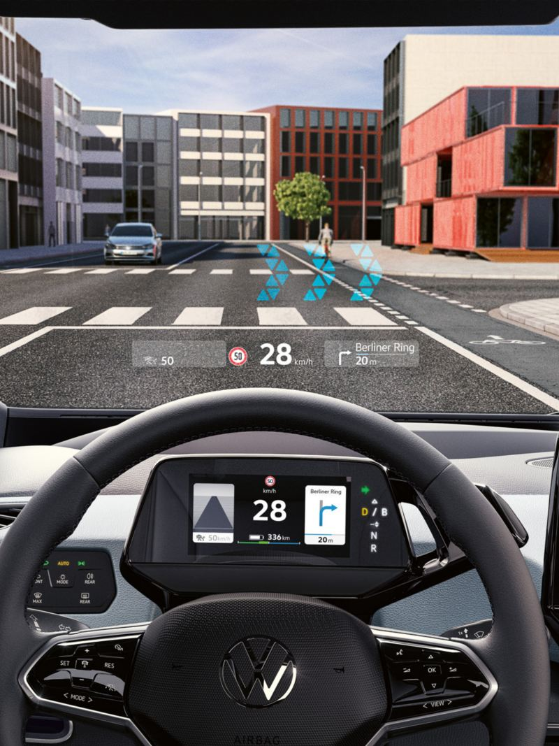 ID.3 mit AR Head up Display