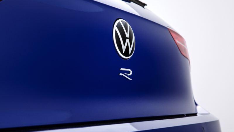 Volkswagen Golf-R 2022 - Vue arrière