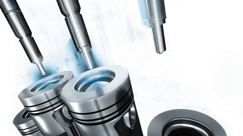 Illustrazione dell'iniezione diretta di benzina Volkswagen