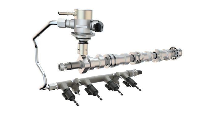 Immagine di un sistema di iniezione diretta Volkswagen