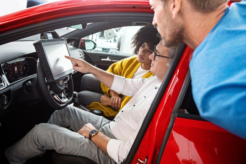 Volkswagen 專業的銷售服務