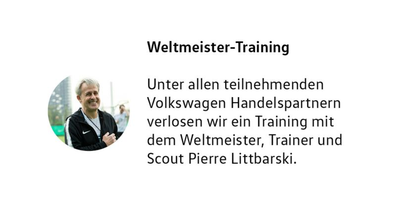 Weltmeister-Training
