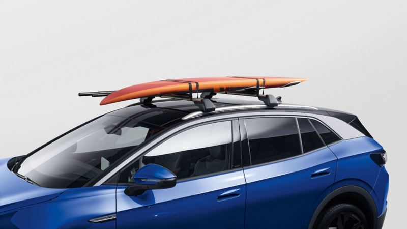 Kajakkholder for takstativ til Volkswagen VW Volkswagen ID.4 elbil SUV