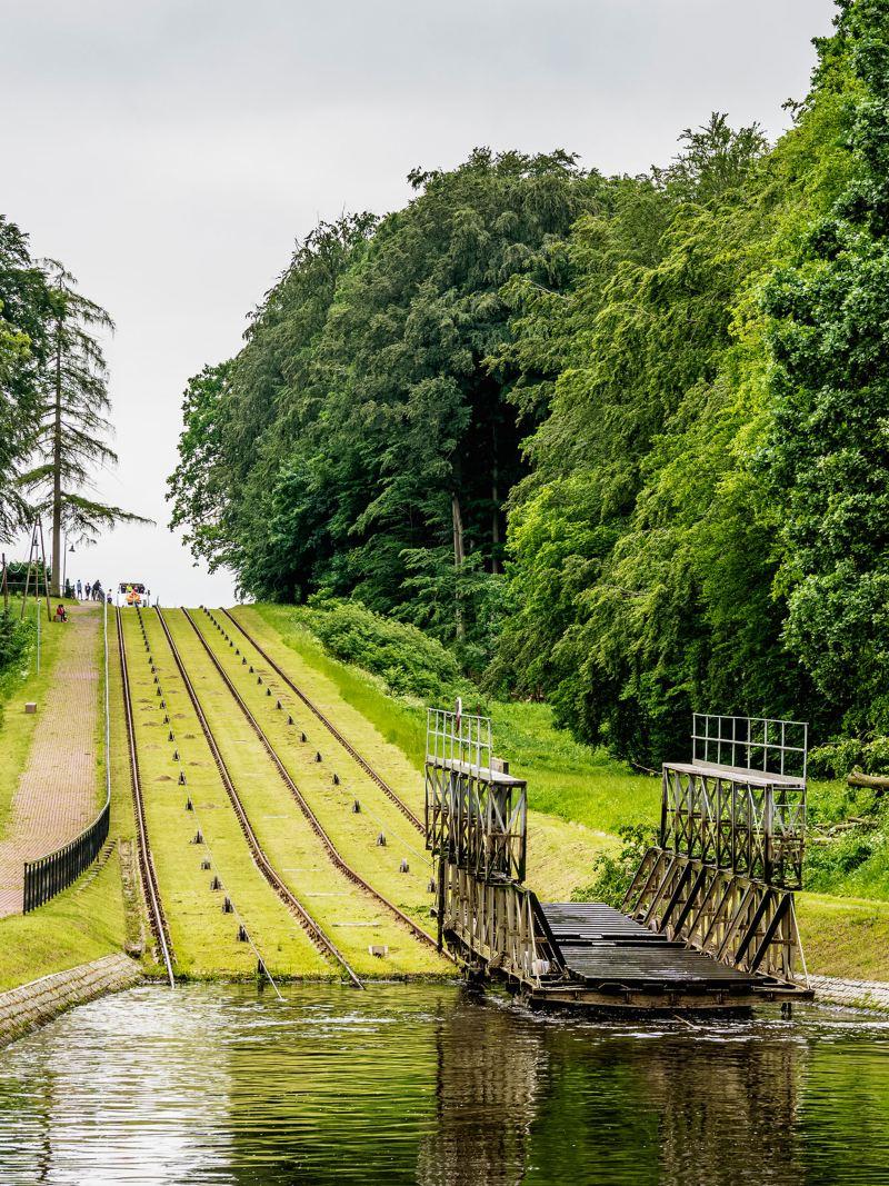 Spływ kanałem elbląskim do Małdyty