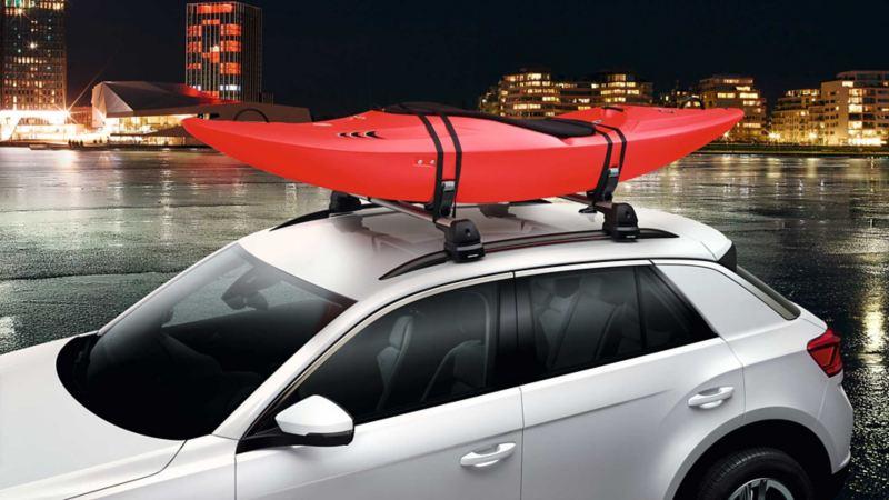 Kajakkholder for takstativ til Volkswagen VW T-Roc SUV