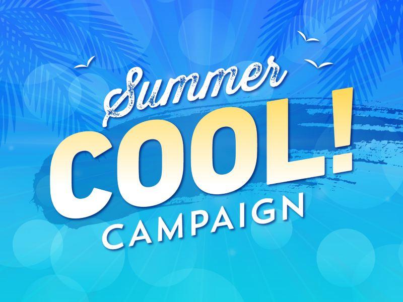 【総勢30名様にプレゼント!〆7/26まで】COOLな夏グッズが当たるキャンペーン実施中!
