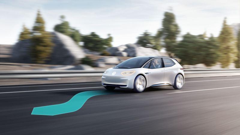 Volkswagen med hög grad av automatisering.