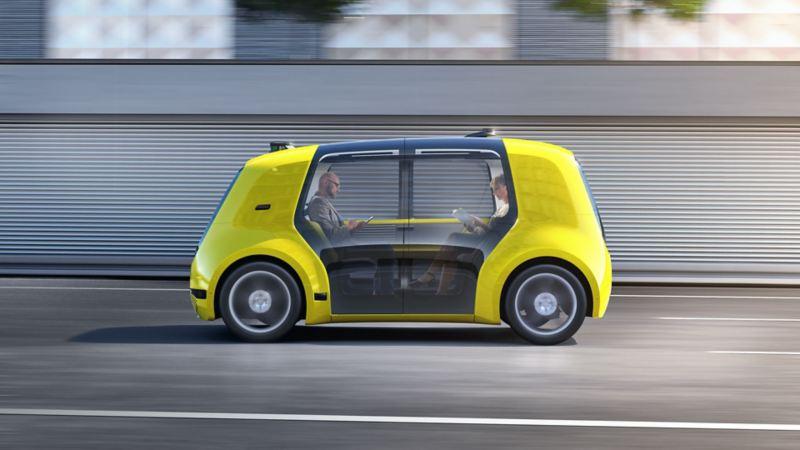Autonomous driving in a concept car