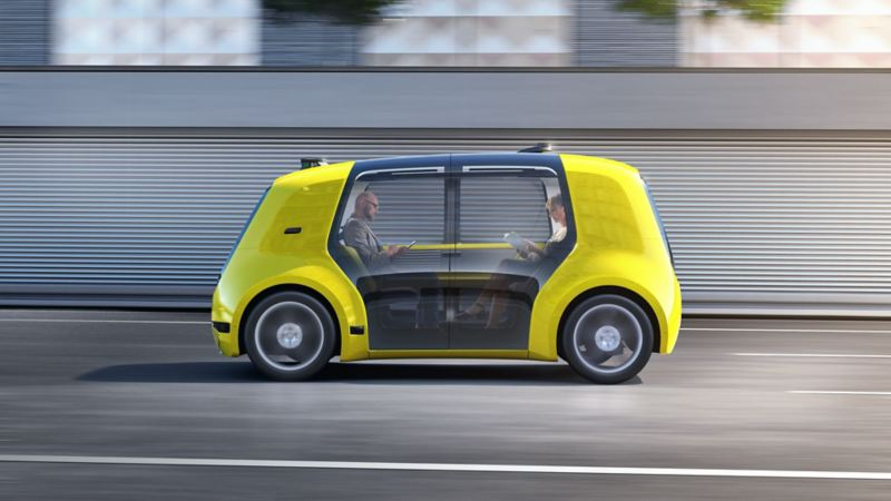 Självkörande konceptbil.