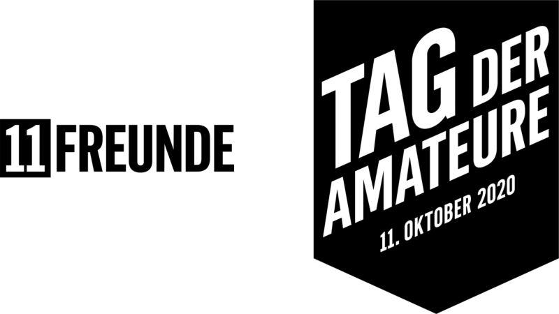 Logos von 11Freunde und dem Tag der Amateure