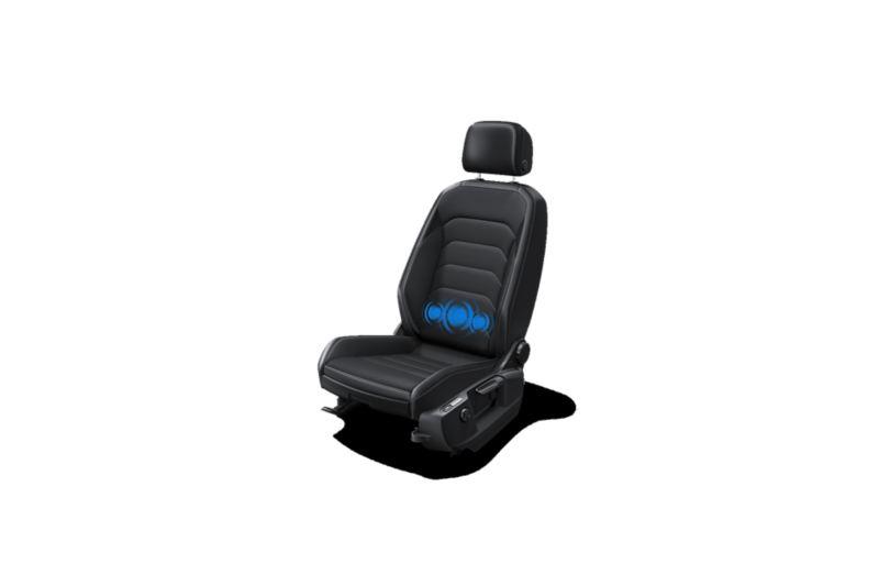 Sedile ergoActive per auto Volkswagen