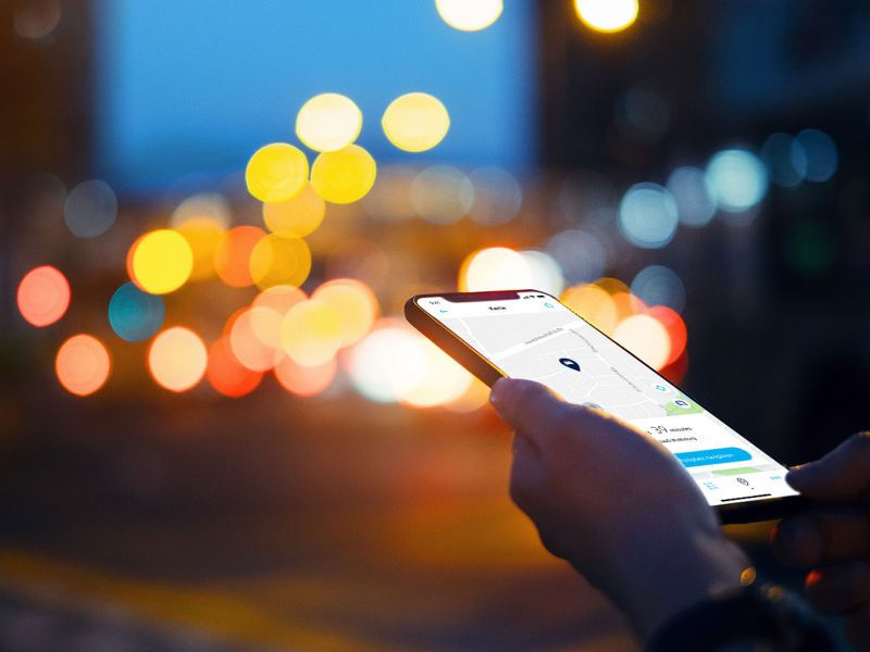 encuentra el aparcamiento con We Connect Go App