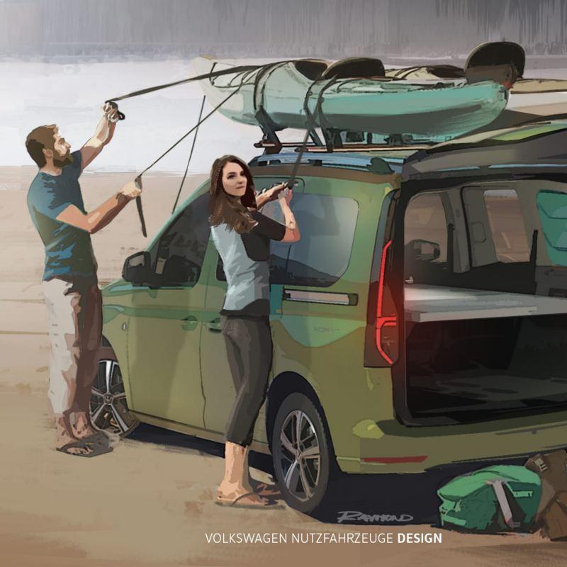 Mini-Camper Caddy