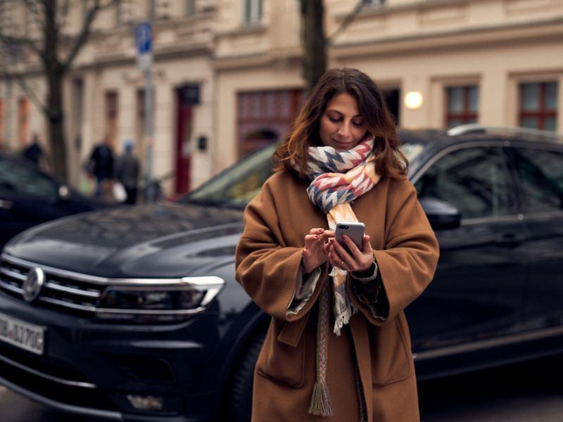 Controlling Volkswagen vehicles via app
